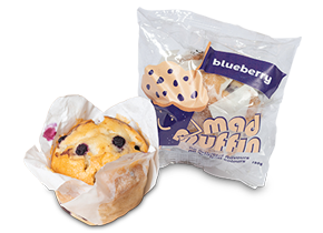 Mad Muffin- blueberry