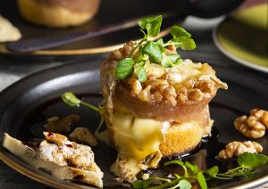 Pear & Walnut Cake