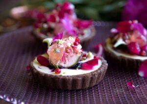 Choc Berry Tart