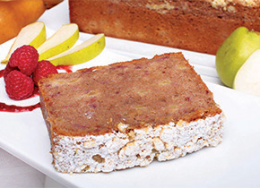 Pear & Raspberry Bread